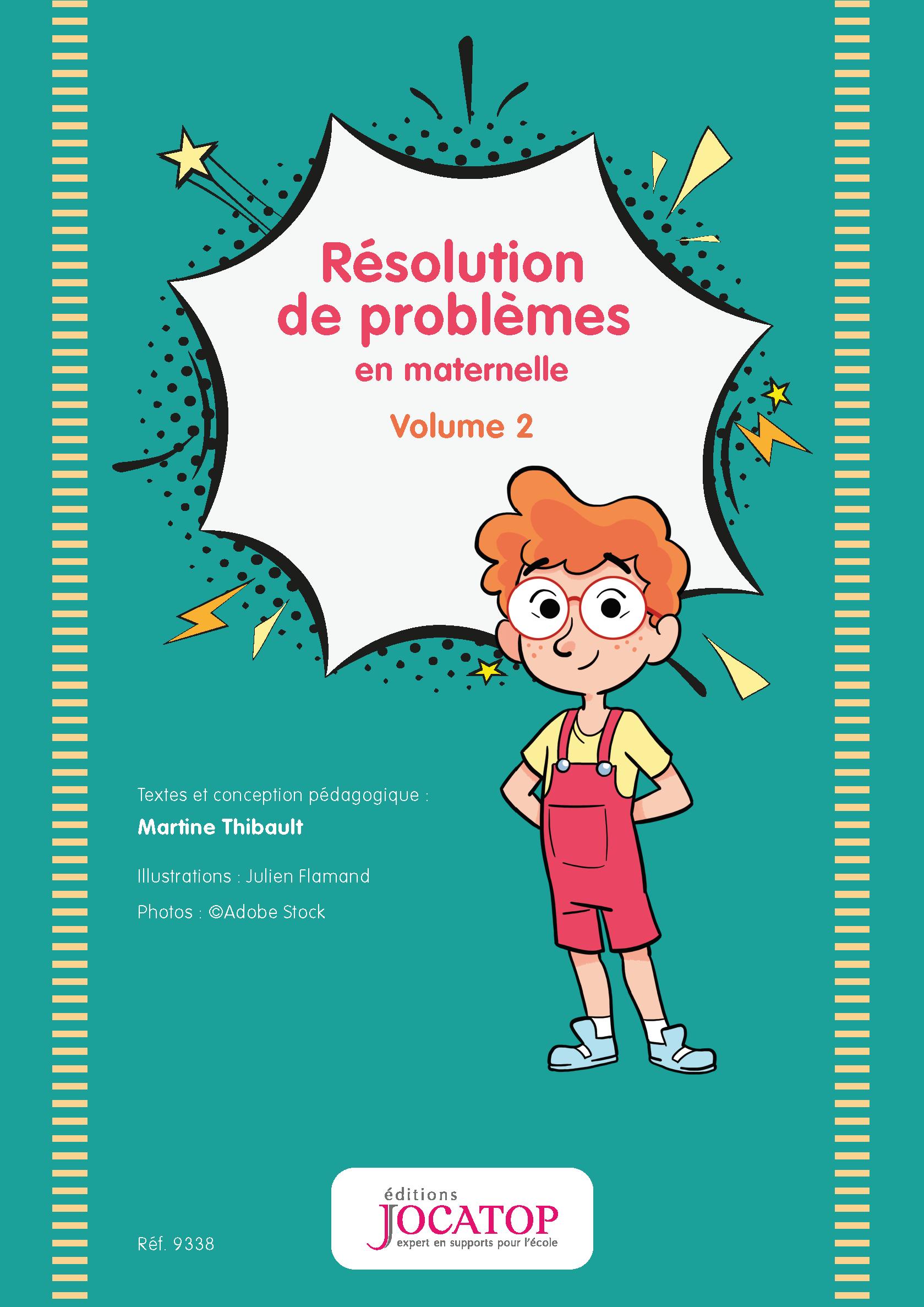 Guide Résolution de problèmes en maternelle Volume 2